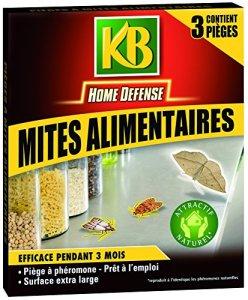 KB HOME DEFENSE PIEGES MITE ALIMENTAIRE Pack de 3 HDMIT 9560