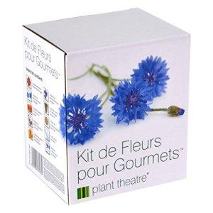 Kit de Fleurs pour Gourmets par Plant Theatre – 6 variétés de fleurs comestibles à cultiver – Idée cadeau