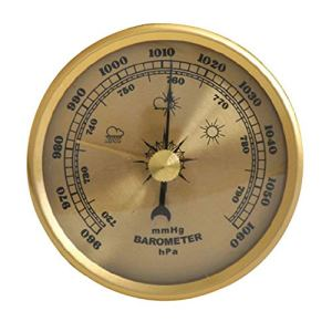 KSUVR Baromètre prévisions météo Station météo baromètre Haute précision intérieur et extérieur baromètre sans Fil Portable
