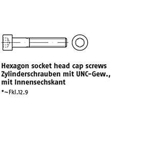 Lot de 10 vis à tête hexagonale ART 83912-1 1/4–7 UNC x 8 203 mm
