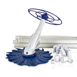 Manufacturas Gré 90397 – Aspirateur automatique SILENCE VAC, blanc et bleu