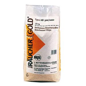 Räuchergold HB 500-1000 Rettenmaier Sciure de fumage fine en bois de hêtre 0,5-1 mm 15 kg