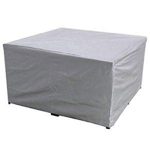 ROKF Housse de Protection imperméable pour Meubles de Jardin en Polyester résistant à la poussière et aux UV pour extérieur de Table et de Chaise, 180 X 120 X 74cm, Taille Unique