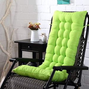 SNING épais Coussins de Chaise Chaise Longue Remplacement Coussin Coussin Jardin Coussin Lounge Chair Fauteuil de Relax de Jardin-40x110cm(16x43inch) R