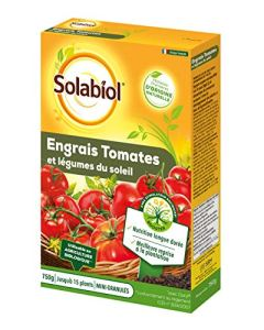 SOLABIOL SOTOMY750 Engrais Tomates et Légumes Fruits | Utilisable en Agriculture Biologique, 750 g