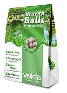 Velda, boules d'engrais pour plantes de bassin, Growth Balls, 50 pièces, 122250