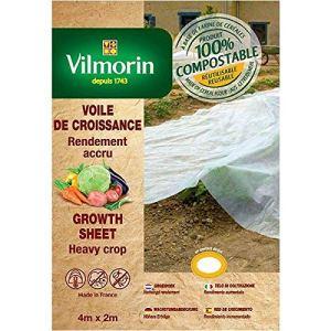 Vilmorin – Voile de croissance – farine de céréales – 2m x 4m 18µm