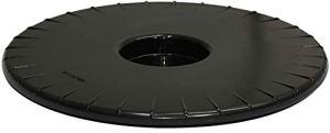 Wagner 20044801 – roulettes Souples en Plastique ABS – Noir – Diamètre 30 x 2,5 cm – Charge maximale 100 kg