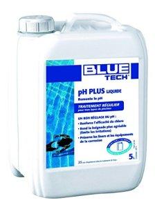 Blue Tech BL500843 Correcteur de Piscine pH Plus 5 L