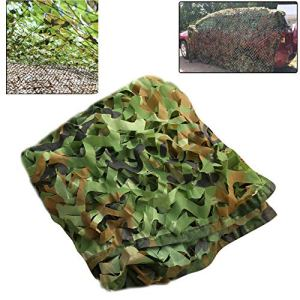 Camo Netting Oxford Chasse Tissu Tir Armée pour Hide Camping, Vert, Stores Net Camouflage Grande pour Ombrelle Camping Chasse Tir,6m * 100m