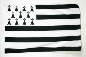 DRAPEAU BRETAGNE 90x60cm – DRAPEAU BRETON – FRANCE 60 x 90 cm – DRAPEAUX – AZ FLAG