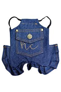 HEN COUTURE Tablier en denim avec sangle unique en denim Taille standard