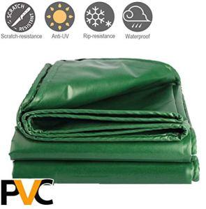 JXH PVC étanche à la Pluie en Tissu, Sun-Proof Bâche, épais imperméable Bâche, Camion Toile, Anti-acides et Anti-Corrosion, Anti-âge, Protection de l'environnement et sans saveur,10 * 20m