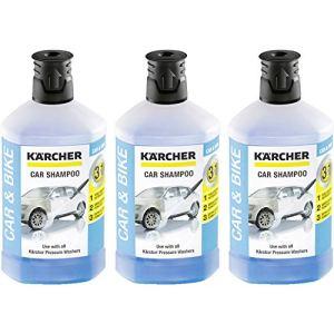 Kärcher RM 611 Shampoing pour Voiture 1000ml, Lot de 3 (3 x 1000ml)