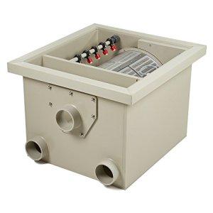Tambour Filtre PP22Débit Max 22m³/h avec couvercle