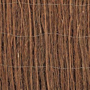 Tidyard Clôture en Bambou 400 x 125 cm