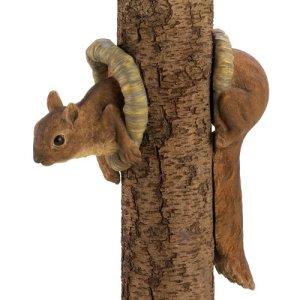 Woodland écureuil Arbre Décor 2pk