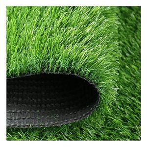 YNGJUEN Hauteur de la Pile de Gazon synthétique synthétique de Haute qualité de 30mm, pelouse de Vacances de Haute densité, pelouse réaliste de Chien de Jardin Naturel (Size : 2x5m)