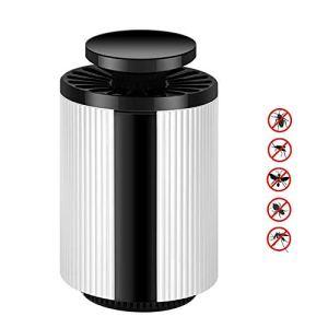 yzdhaxa LED Tueur De Moustiques Tueur De Moustiques Tueur De Moustiques Domestique Adapté pour 101-150 Mètres Carrés Équipé d'une Réduction De Bruit Muet d'onde Lumineuse De 365 Nm Blanc A