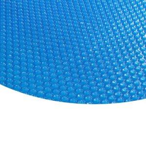 Zelsius bâche a bulle de Piscine Bleue Ronde I bache Solaire à Bulles Piscine I 400µ – Ronde, 3.6 m de diamètre