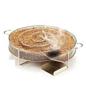 Amazing Tour BBQ Generateur Fumée Froide- Boîte de Fumoir Granule pour Fumoir Fumage Viande Poisson Grille Barbecue en Acier Inoxydable