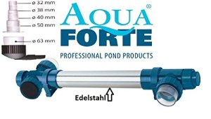 AquaForte UV-C T5 75 W. 76 x 20 x 13 cm argenté