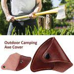 Ax Couverture Ax étui de protection en cuir Ax gaine Ax gaine extérieure Ax Couverture cuir épais Ax Lame Couverture Holster Hatchet Protector