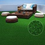 casa pura Moquette d'extérieur au mètre | Tapis Gazon synthétique | résistant | Jardin, terrasse, Balcon, Terrain de Golf, etc. | Vert – 300x200cm