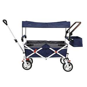 CYK Utilitaire Pliant – Chariot de Camping Pliable pour Le Jardin extérieur avec Poches latérales et Plafond en Tissu Amovible, Convient à la Plage de Pique-Nique