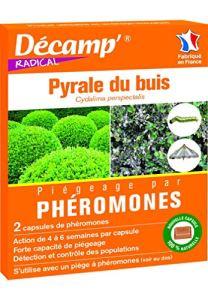 Décamp – Phéromone contre la Pyrale du buis 2 capsules individuelles