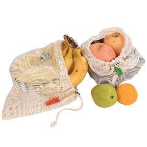 EasyBuying Sac De Rangement Réutilisable De Fruits Et Légumes De Ménage