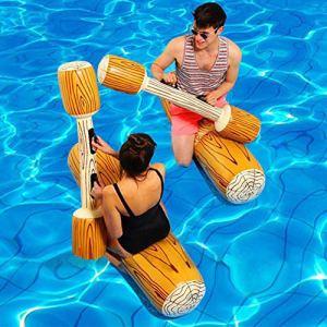 fgfh 4 pièces/ensemble piscine jeu flottant gonflable sports nautiques voiture partie radeau rafting enfants adultes partie équipement flottant