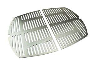 Grille de grillage en acier inoxydable / grille de remplacement adaptée à toutes les grilles des séries Weber Q300 et Q3000