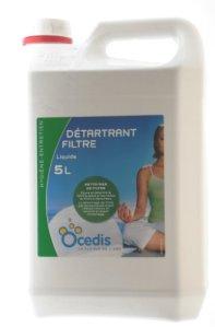 OCEDIS Entretien Detartrant Filtre 5L, 5 liters L, Vert, 18,5x13x29,5 cm