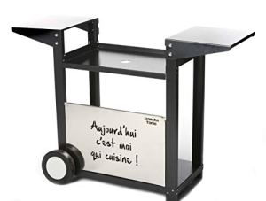 Plancha Tonio Chariot, Noir