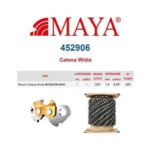 'Rouleau chaîne en widia .325«1,5mm–0,058920mailles avec sans rebond Maya–452906