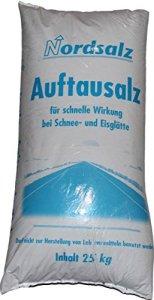 Sel | Décongélation Sel–Sel du Nord–25kg sack| Bonne pour le service professionnel d'hiver | Litière | immédiatement Disponible