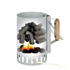 WXJHA Accueil Barbecue Outils Rapides Point de Charbon d'allumage Barils Carbone Poêle Allumage Outils d'extérieur Bambou Cheminée Fire Starter Briquette Charbon Entrées