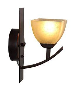 ZGQA-Lampes de bureau American Country Living Room Aisle Retro Chambre Balcon Mur E27 Lampe de chevet Applique murale à LED
