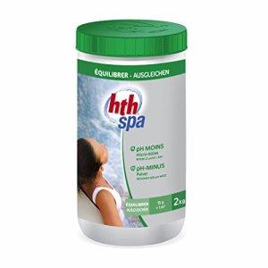Alice's Garden – Entretien de l'eau du spa, pH MOINS HTH traitement en poudre, 2kg