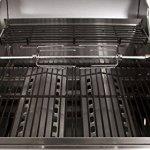 BBQ-Toro tourne broche electronique Kit pour grill I avec un 120 cm Moteur dans une bôitier en inox I barbecue, rôtisserie, rotissoire