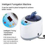 Fumigation Machine, 4L Durable Pratique Intelligente Fumigation Machine Télécommande Maison Sauna Tente Vapeur Spa Spa Générateur pour Usage Domestique