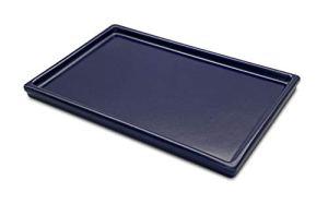 K&K Bac à bonsaï en céramique résistant au gel 30 x 18,5 cm bleu