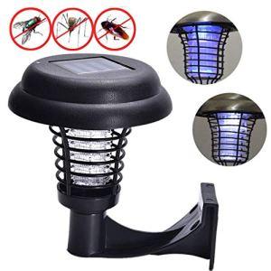 Lampe Murale Noire Anti-moustiques | Lampe Anti-moustiques Lumière Lampe Anti-moustiques pour Jardin Pelouse June12