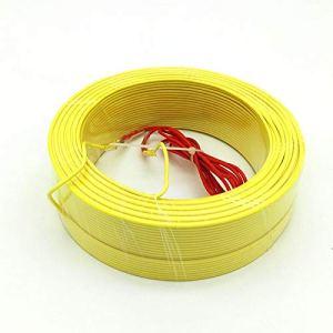 MCYNQ Câble Chauffant pour Sol Fil Chauffant pour Serre Sol Chaud pour Plantes Toutes Tailles 30/50/100 / 120m Couleur aléatoire, 120 mètres