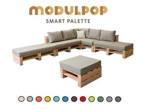 Modulpop Combinaison 8 Places Pouf