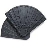 VonHaus Base pour Parasol (12,5Kg) – Support de Parasol Rond en Béton Très Résistant – Poids pour Pieds de parasols