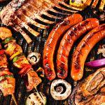 Wayin Tapis de Cuisson Barbecue Feuille Cuisson Silicone Set de 6 Tapis Barbecue Papier Cuisson Réutilisable 100% Anti-adhérent Premium Anti-adhésif 40X33 CM