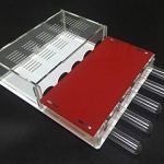 WCX 1PCS Acrylique Ant Nest Ant Villa 15MM 5 Tube à essai Nest Apiculture (Color : Red)