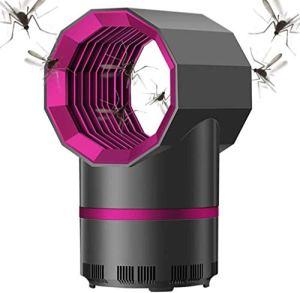 ZYF Tueur d'insectes électrique, Lampe de Moustique, Tueur d'insectes UV de lumière de Bug Zapper Portable, lumière de Zapper de Mouche pour Le Bureau de Cuisine de Chambre à Coucher